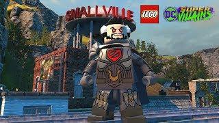 LEGO DC Super Villains General Zod Unlock + Free Roam Gameplay