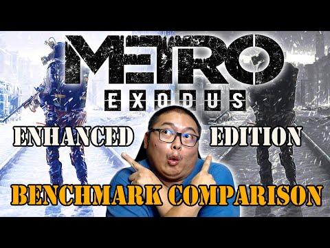 Metro Exodus Enhanced Edition Benchmark Comparison 1440p 21:9 |