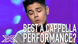 "Contestant Wows The Judges With His A Cappella Cover ""Ordinary People"""
