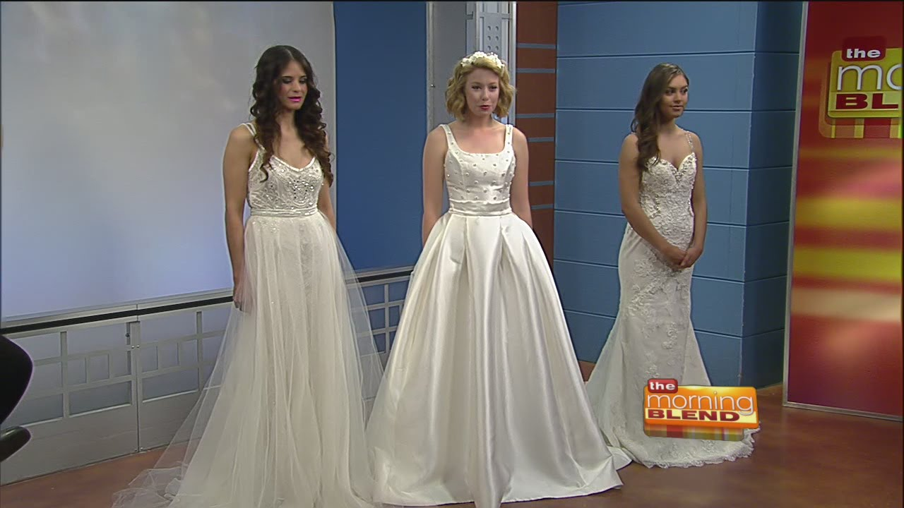 GiGi Bridal - wedding gowns and accessories - YouTube