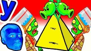 Последнее ВЫЖИВАНИЕ ПРоХоДиМЦа в Пирамиде ЗОМБИ! #365 Мультик ИГРА - Растения против ЗОМБИ 2
