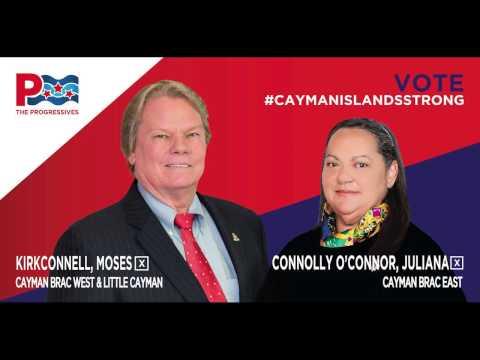 The Progressives - Cayman Brac Campaign Launch