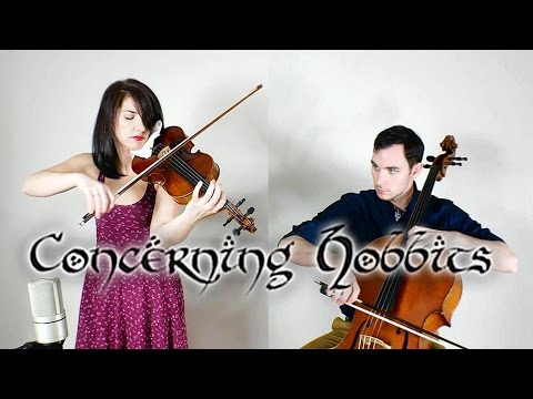 Concerning Hobbits for violin and cello (The Shire Theme)