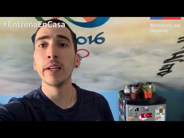 #EntrenaEnCasa Pro - Ignacio Morales