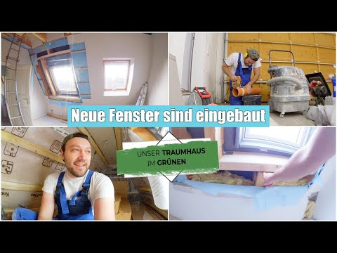 Fenster falsch eingebaut! | Ausbau im Dachboden | Baustellen Vlog | Isabeau