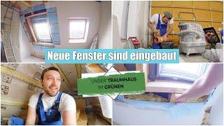 Fenster falsch eingebaut! 😡 Ausbau im Dachboden | Baustellen Vlog | Folge 27 | Isabeau