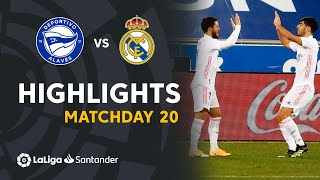 Highlights Deportivo Alavés vs Real Madrid (1-4)