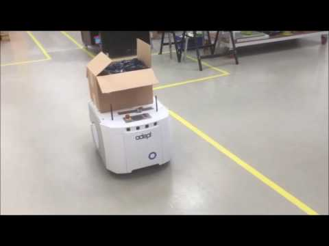Robopod in partnership with Omron AIV