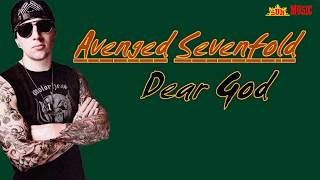 Download Avenged Sevenfold   Dear God Lyrics - Lirik dan Terjemahan Indonesia