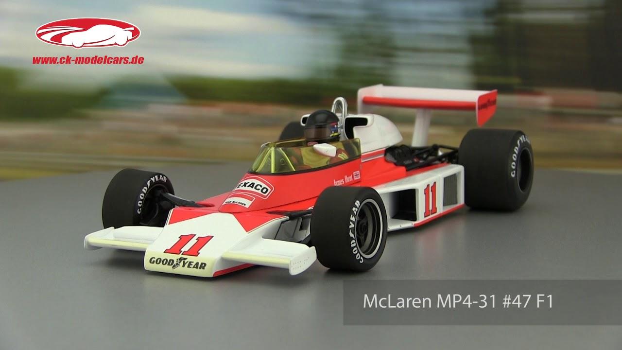 ck-modelcars-video: james hunt mclaren m23 #11 world champion formel