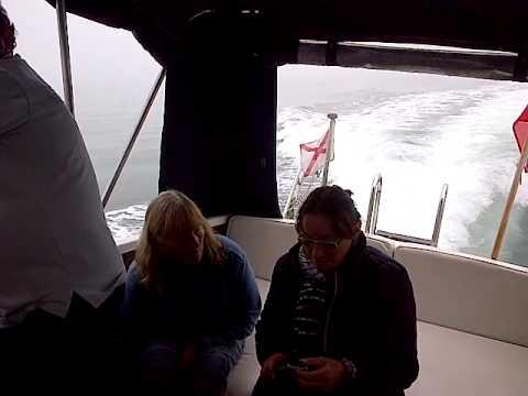Princess Marine Project 31 in fog
