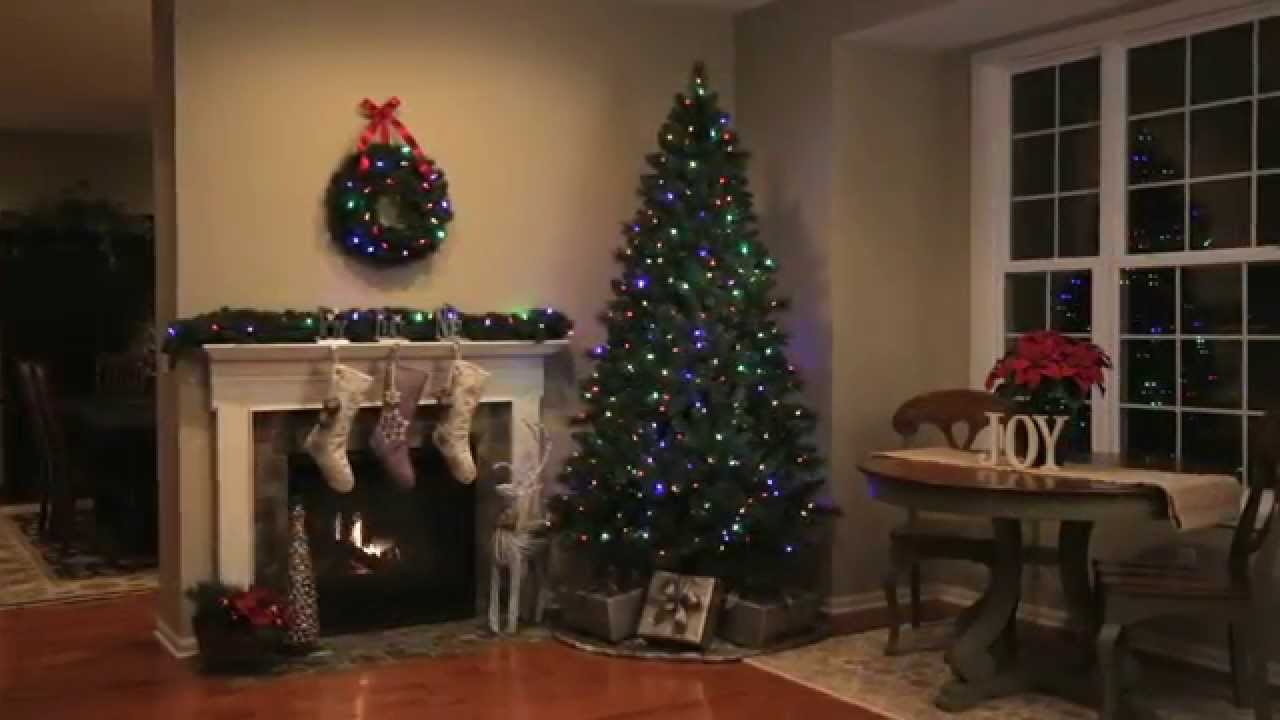 Philips 3 Color Effect Lights, Tree and Wreath - YouTube