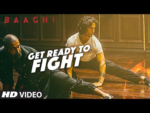 Thumbnail: Get Ready To Fight Full Video Song | BAAGHI | Tiger Shroff, Grandmaster Shifuji | Benny Dayal