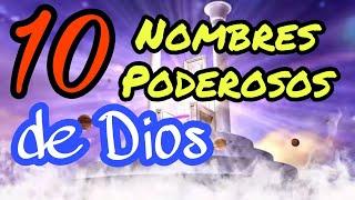 ✅ Los NOMBRES de DIOS y su SIGNIFICADO en la BIBLIA en español | 10 Poderosos nombres del SEÑOR
