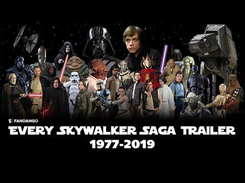 ALL Star Wars: Skywalker Saga Trailers (1977-2019)   Movieclips Trailers