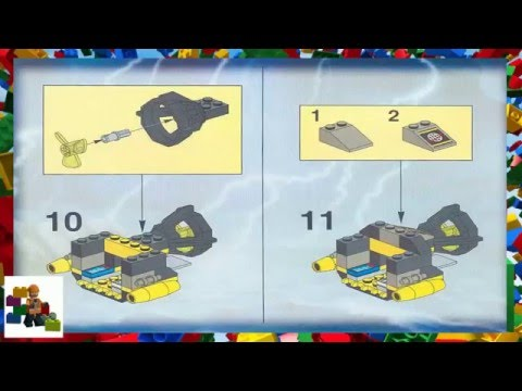 LEGO Instructions - Alpha Team - Alpha Team ATV - 6774