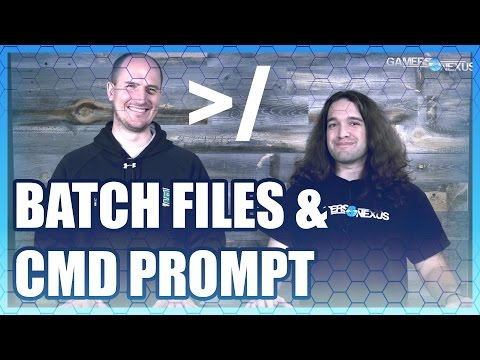 Must Know - Command Prompt & Batch Files