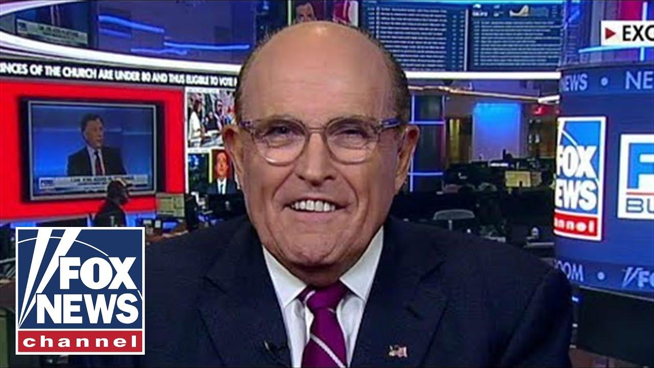 FOX News Giuliani rips 'corrupt' media, defends Trump's calls for Biden probe