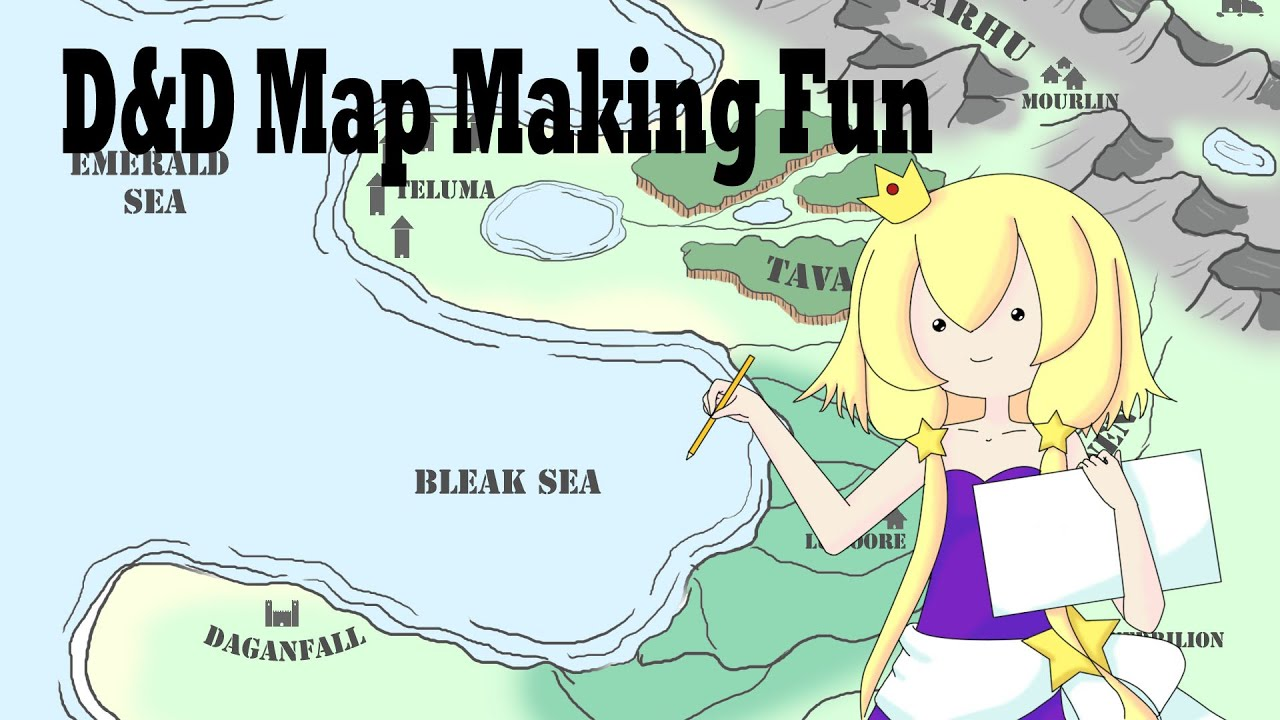 Making my first dnd map youtube making my first dnd map gumiabroncs Choice Image