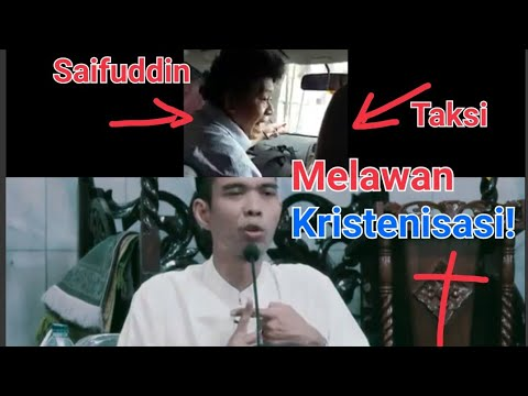 Beredar Aksi Kristenisasi Saifuddin, ini Nasehat Ustadz Somad Menangkal Pemurtadan