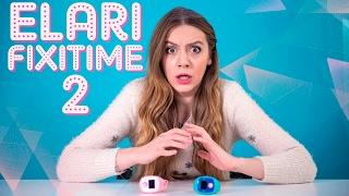 видео Fixitime 2 Smart Watch ELARI черные умные часы GSM для детей с GPS/LBS/WiFi трекером