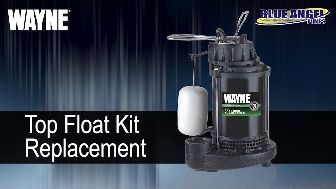 How To Replace Your Wayne Cdu Sump Pump Float Top You