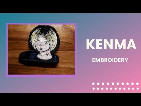 Kenma Kozume - Emobridery