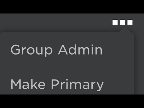 How To Go To Group Admin In Mobile Roblox Youtube