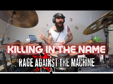 KILLING IN THE NAME   RAGE AGAINST THE MACHINE - DRUM COVER.