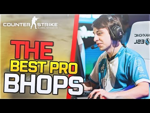 WHEN PRO PLAYERS BHOP! - CS:GO (PHOON?! CRAZY PLAYS!) ft. best of shroud,swag,JW,roca,jdm,seangares