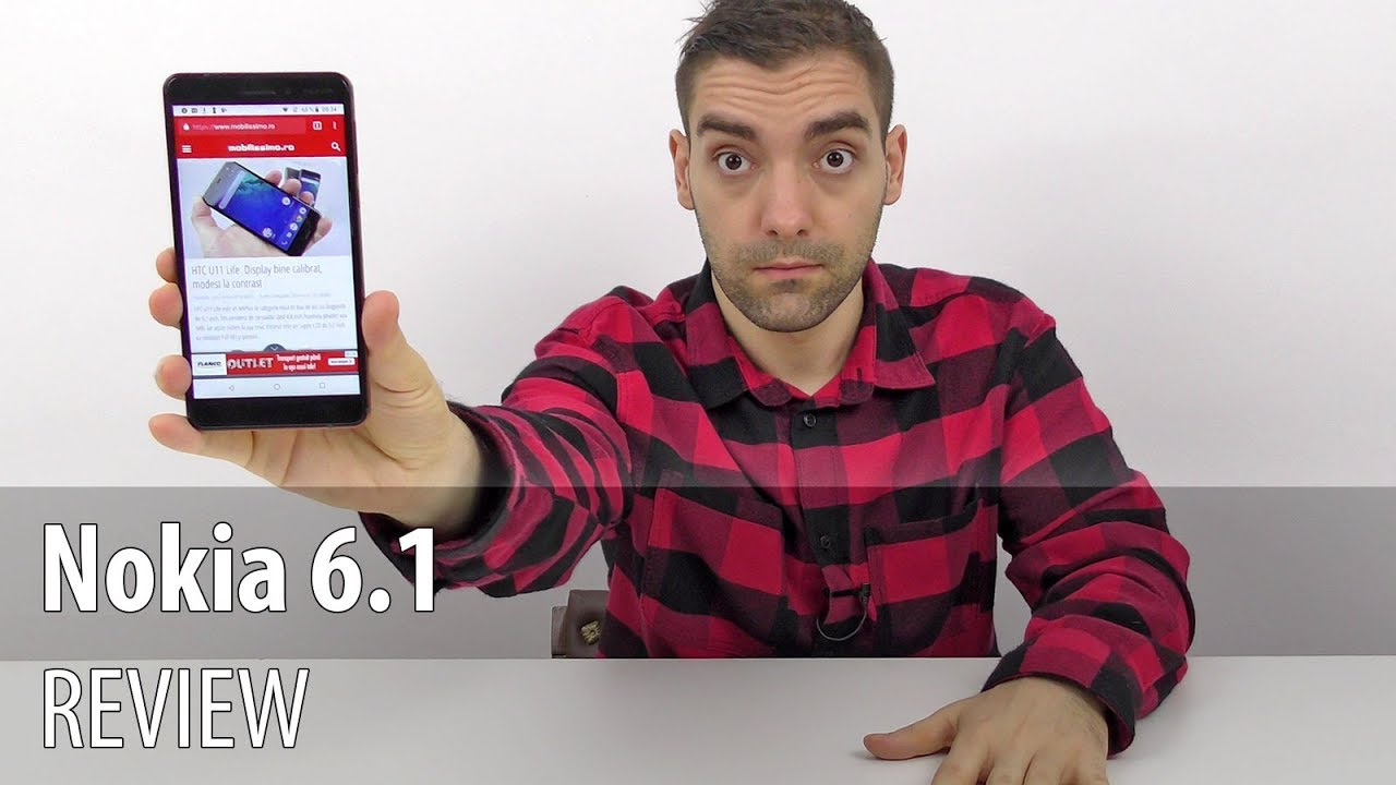 Nokia 6.1 Review în Limba Română (Telefon midrange cu optică Zeiss, accente metalizate)