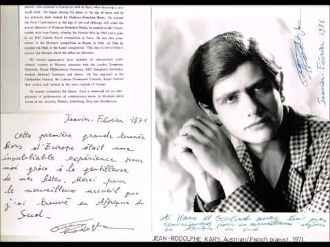 Jean-Rodolphe Kars plays Debussy Préludes (complete)
