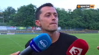 Христо Янев: Беше приятно отново да бъда с приятели на терена
