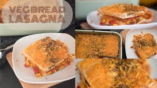 How to make Vegetable Bread Lasagna Recipe | Appetizer | Quick and Easy | Breakfast | Ep 44