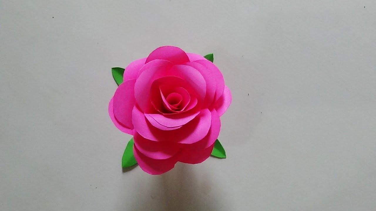 600 Gambar Bunga Mawar Dari Kertas Origami Terbaru Gambar Id