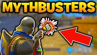 Fortnite MYTHBUSTERS - SHOOTING GRENADE MAKES IT EXPLODE!? & MORE! (Fortnite MYTHBUSTERS GAMEPLAY)