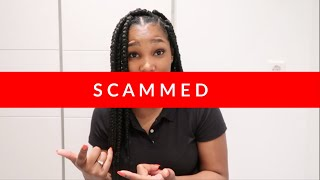 STORYTIME: SCAMMED TO ALMOST HOMELESS.