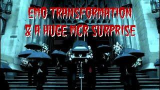 EMO TRANSFORMATION & SURPRISING FRANK WITH AN MCR MEMORIAL | ft. Eva DeMuro & CrankThatFrank
