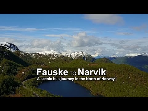 From Bodø and Fauske to Narvik by bus