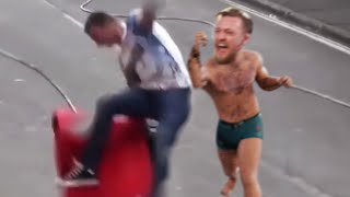 Stalking Conor McGregor