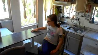 Tinyhouse With Stairs And Fold Away Table