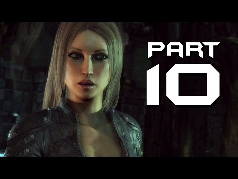 Batman Arkham City Walkthrough Part 10 - TALIA