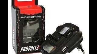 Обзор и тест лягушки с дисплеем и USB универсального зарядного устройства от PROVOLTZ
