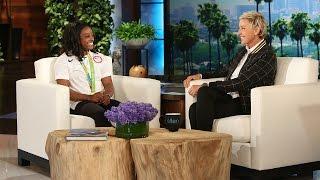 Olympic Gymnast Simone Biles Returns from Rio