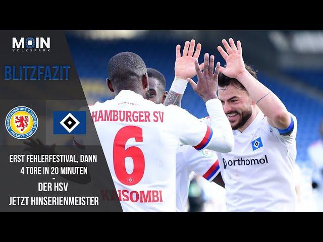 Scholles Blitzfazit zum Spiel | Braunschweig 2:4 HSV / Saison 20/21 | #004