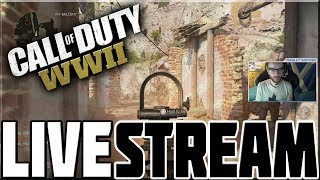 CALL OF DUTY WWII BETA LIVESTREAM ACTION!