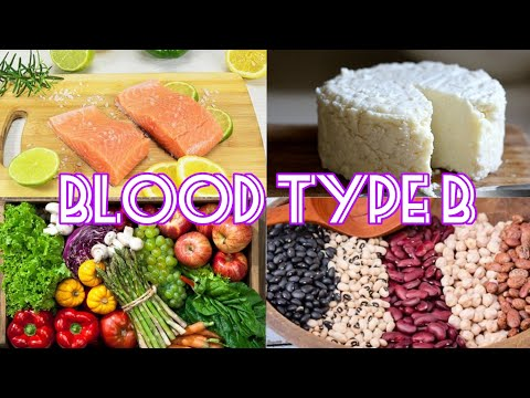 The Blood Type Diet - Blood Type B (Real Voice)