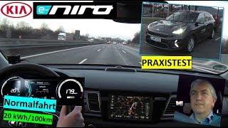KIA e-niro 64kWh: Normalfahrt   Praxistest   nextmove