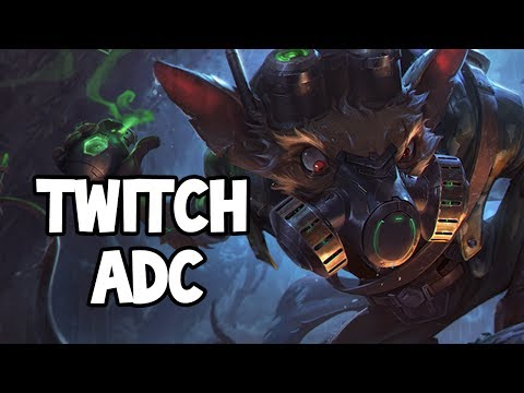 OMEGA SQUAD TWITCH ADC GAMEPLAY - League of Legends
