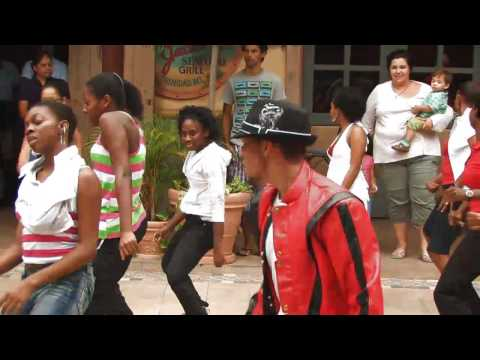 (OFFICIAL) Tribute to Michael Jackson from Trinidad & Tobago (FLASH MOB)